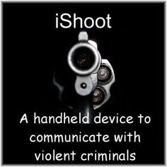 iShoot... Don't leave home without it...
