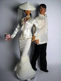 The chorradikas Laury: Barbie Wedding Dress Pattern Barbie Bridal, Barbie Wedding Dress, Barbie Dress, Barbie Sewing Patterns, Doll Clothes Patterns, Clothing Patterns, Doll Patterns, Monster High, Formal Dress Patterns