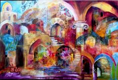 This is the one artist I want to own something by. Livne, Smadar – Livne Fine Art Studio