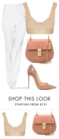 """Untitled #76"" by arietheofficial on Polyvore featuring dMondaine, Chloé and Christian Louboutin"