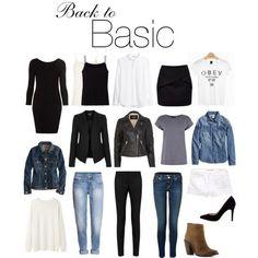 back to basic: les essentiels de la garde-robe