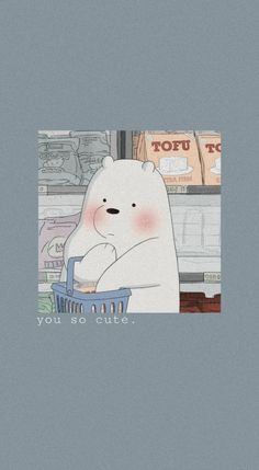 Cute Panda Wallpaper, Cartoon Wallpaper Iphone, Bear Wallpaper, Cute Disney Wallpaper, Kawaii Wallpaper, Cute Wallpaper Backgrounds, Wallpaper Desktop, We Bare Bears Wallpapers, Panda Wallpapers