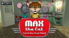 We have released 'Max the Cat - Catch the Food Thief' on iOS and Android. iTunes: http://goo.gl/oZksGE Google Play: http://goo.gl/h7PrTY