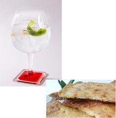 Lo ultimo en maridajes: Gin Tonic y tortas de aceite saladas. Probadlo: original y refrescante