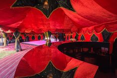 This beautiful colourful inspired tent that has a festival vide with the bright, vibrant velvet looking draping, perfect for an Indian Wedding too! Marquee Hire, Marquee Wedding, Tent Wedding, Luxury Wedding, Arabian Tent, Wedding Furniture, Wedding Boudoir, Arabian Nights, Wedding Images