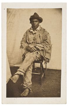 US Slave: The Whipping Scars On The Back of The Fugitive Slave Named Gordon