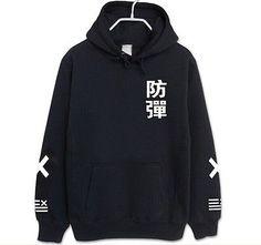 New BTS Hoodie Bangtan Boys Hoody Sweater Men's Women's KPOP Goods NO2