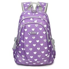 Abshoo Kids Child Heart Printed Backpacks Cute Girls School Bag -- More info could be found at the image url. (This is an Amazon Affiliate link and I receive a commission for the sales)