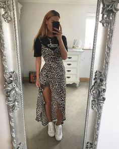 Leopard Print Outfits - Timeless Trend - - Leopard Print Outfits – Timeless Trend Source by womanfashiontrend Mode Outfits, Dress Outfits, Fashion Outfits, Womens Fashion, Maxi Dresses, Fashion Ideas, Dress Fashion, City Outfits, Fashion Hacks