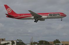SBA Airlines Boeing 767-300; YV528T@MIA;27.12.2013/736fc