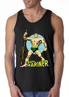 Gildan Tank Tops Sub-Mariner Prince Namor Size S-XXL For Sub Mariner, Custom Tank Tops, Marines, Tank Man, Prince, Trending Outfits, Mens Tops, Clothes, Etsy