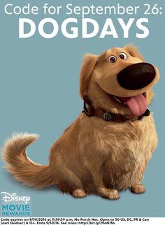 Walt Disney Pixar Studios UP Animated Movie -DUG Dog Window Cling Sticker - NEW in Collectibles, Disneyana, Contemporary Walt Disney Pixar, Disney Up, Disney Dogs, Disney And More, Disney Magic, Up Pixar, Pixar Movies, Disney Movies, Dug The Dog