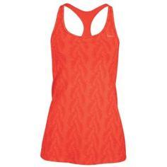 Nike Printed Indy Racerback Long Bra - Women's - Training - Clothing - Sunburst/Bright Peach