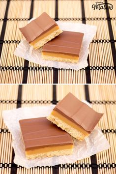 This easy millionaire shortbread recipe is the perfect step by step guide! Packed with pictures and top tips every step of the way, you literally can't go wrong. (Also known as caramel slice & caramel shortbread. No Bake Treats, No Bake Desserts, Dessert Recipes, Cake Recipes, Milk Recipes, Holiday Desserts, Caramel Shortbread, Shortbread Recipes, Shortbread Cookies