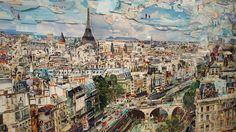 Paris por Vik Muniz. MARAVILHOSO  Saiba mais em www.ohlaladani.com.br