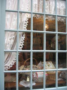 Nostalgia shop window, Somerset England
