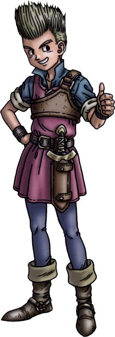 Dragon Quest 9 Hero | Ivor (Dragon Quest IX Sentinels of the Starry Skies)