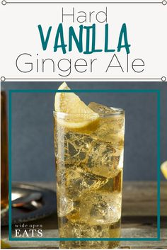 Hard Vanilla Ginger Ale