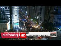 Protesters call for resignation of South Korean President Park Geun-hye - http://nasiknews.in/protesters-call-for-resignation-of-south-korean-president-park-geun-hye/
