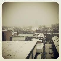 Snow in Dalston