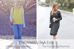 The Weekly Style Edit: Lingerie Dress - The Fashionista Momma