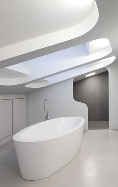 OLS House by J. Mayer H....very modern, but, awesome tub for any home