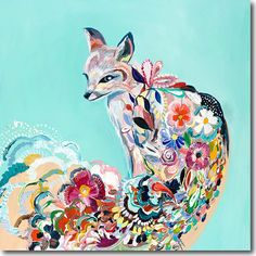 SkylineArtEditions.com - Fancy Fox III, $25.00 (http://www.skylinearteditions.com/fancy-fox-iii/)