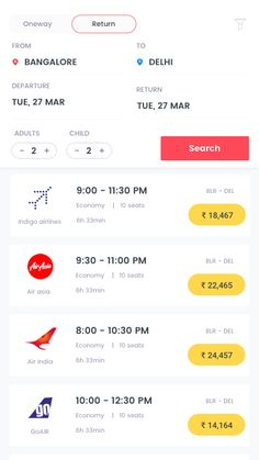 Combination of Information Design & Service Design. Developers want to show the necessary information without exaggerating. However all the information needed for the costumer to view possible flights have to be shown to deliver the service to the user. Ios App Design, Mobile Ui Design, Design Thinking, Motion Design, Flight App, Design Innovation, Card Ui, Website Design Layout, Web Layout