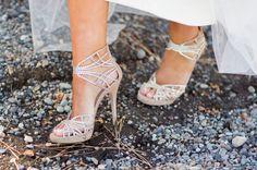 Sapatos de noivas cheios de brilho!