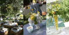 coffee tables, lemons, catering, straw bale, gardens, garden parties, bale seat, photography, country