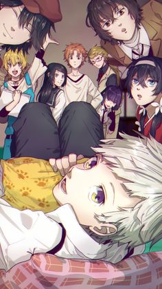 Anime: Bungou no stray dogs
