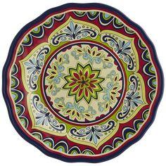 Sevilla Melamine Dinner Plate