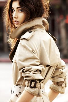 Classic Burberry Trench, photo by Ben Watts (brother of actress Naomi Watts)
