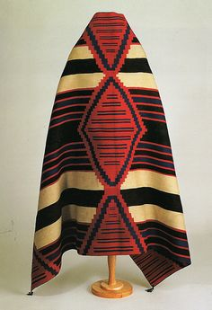 Chief's Blankets | Chief's Blanket, c. 1870's Tapestry weave… | Flickr