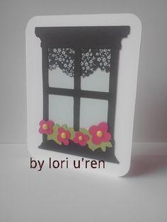 Window frame card