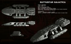 Battlestar Galactica (TOS) ortho [updated] by unusualsuspex.deviantart.com on @deviantART