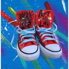 bfc8b9a9d1b8 Items similar to Hand Painted Converse Chuck Taylor All Stars Woman on Etsy