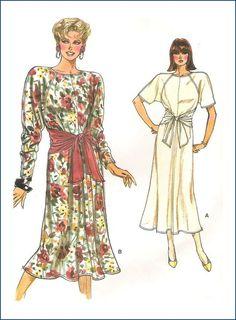 Vogue Sewing Pattern 9460 Misses Dress Size 8 10 12