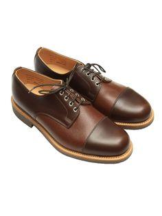 Oliver Spencer - Derby Shoe Brown Leather OSA235