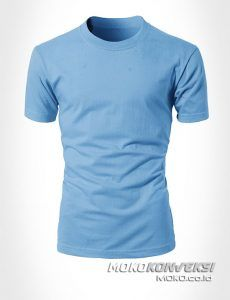 Baju Biru Muda
