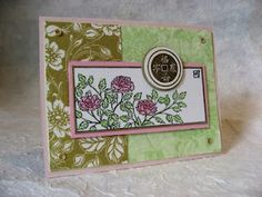 9/24/2008; Michelle Wedemeyer at 'Michelle's Rubber Room' blog; more Paper Napkins Transfers