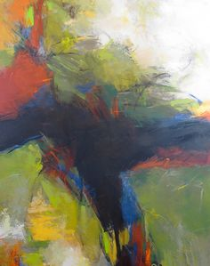 Recollection by Debora  Stewart: Acrylic Painting available at www.artfulhome.com