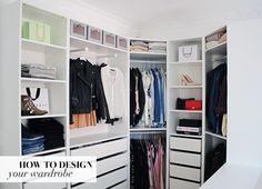 Mit absolutte yndlingsrum i lejligheden er vores walk-in-closet med tilstødende soveværelse. Jeg har altid drømt om at få et walk-in-closet og da vi flyttede og fik et temmelig stort soveværelse,…