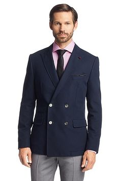 Hugo Boss separate jacket but a good double breasted option