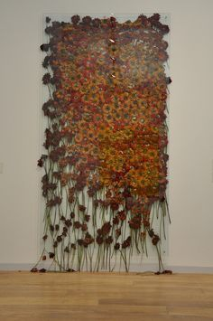 "Anya Gallaccio (1963 − ) | ""Preserve Beauty"" (New York) 2003 © The Artist  