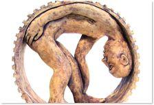 Cog - Elaine Banerjee Sculpture, Fine Art, Artist, Artists, Sculptures, Sculpting, Visual Arts, Statue, Carving
