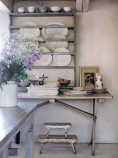 Décor de Provence: Midweek Favorites...in love with plate racks