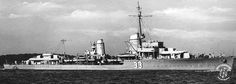 German destroyer Z16 Friedrich Eckoldt was a Type 1934A-class destroyer built for Nazi Germany's Kriegsmarine in the late 1930s. (google.image) 8.17