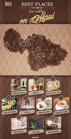 Top 10 Places for Maui Coffee — The Mill House Maui Honeymoon, Hawaii Vacation, Honeymoon Spots, Maui Food, Hawaiian Coffee, Aloha Hawaii, Hawaii 2017, Happy Coffee, Coffee Coffee