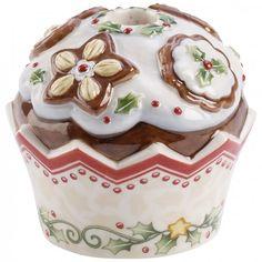 Villeroy & Boch Winter Bakery Decoration Kerzenhalter Cupcake Lebkuchen 6cm-00
